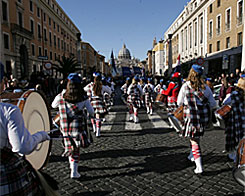 New Year´s Day Parade Rome